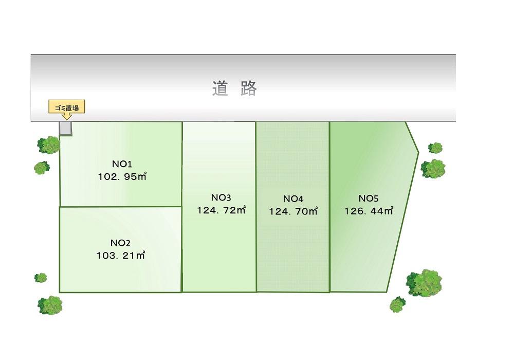 VISIO飯山満Ⅴ│区画図