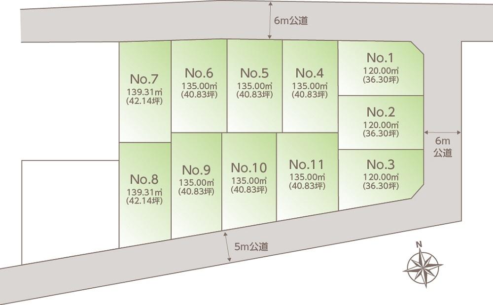 VISIO緑が丘Ⅲ│区画図