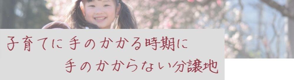 VISIO飯山満Ⅴ│子育てに手のかからない分譲地